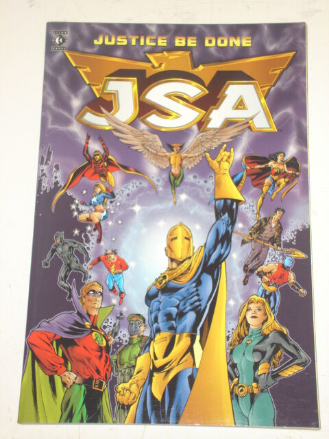 JSA JUSTICE BE DONE  JUSTICE SOCIETY JAMES ROBINSON TITAN BOOKS 9781840231755 <