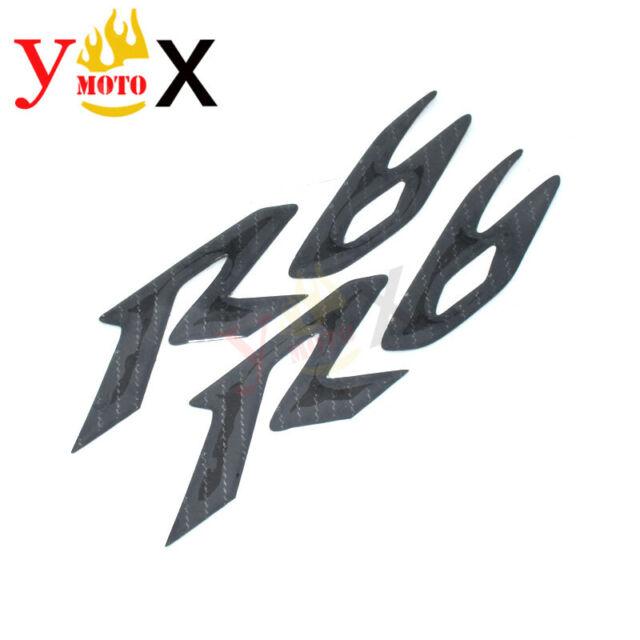 Yamaha R6logo: R6 Carbon Fiber Logo Emblem Sticker Decal Side Fairing