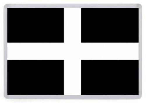 Cornwall County Flag Fridge Magnet