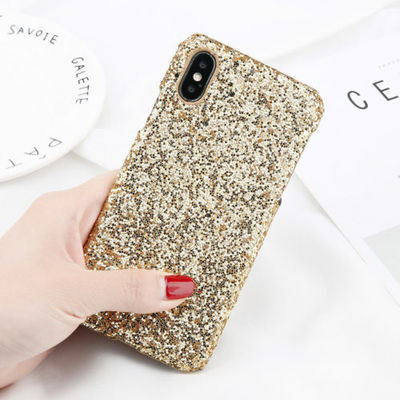 Glitter Christmas Diamond Sparkle Hard Case Cover For iPhone XS Max XR X 6s 7 8
