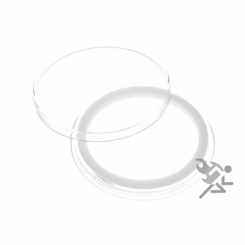 Air-Tite Holders 40mm White Ring 5 Pack American Silver Eagle Capsules