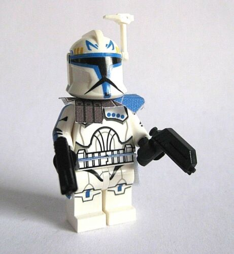 Lego CAPTAIN REX Phase 1 Clone Minifigure CAC Custom Full Body Printing