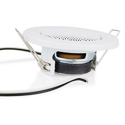 Einbaulautsprecher im Spotlampen-Design, Einfache Montage, Deckenlautsprecher