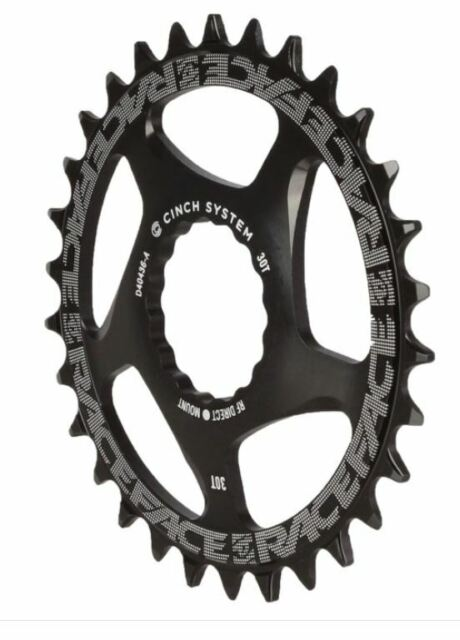104mm BCD 32t Black Race Face Single Narrow Wide 1x MTB Chainring