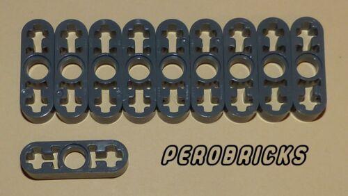 Lego Technic Technik 10 dünne Liftarme 3 Löcher #6632 dunkelgrau