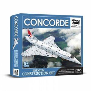 Avion Concorde kit de construction en métal style mécano 265 pieces neuf