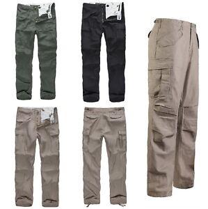 Mens-Military-M65-Field-Pants-Casual-relaxing-Cargo-Pants-Black-Khaki-Green