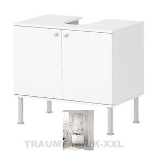 IKEA Waschbecken Unterschrank Badschrank Schrank 2 Türen weiss ... | {Waschbecken mit unterschrank weiß ikea 18}