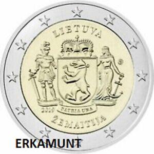 2-euro-Gedenkmuenze-Litauen-2019-Zemaitija-VVK