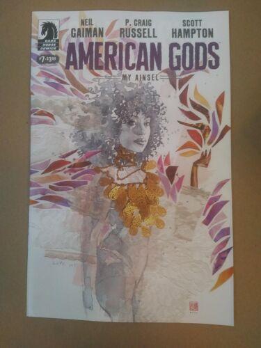 MY AINSEL #7  Neil Gaiman 2018 Mack Variant AMERICAN GODS