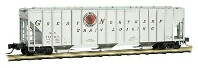 Micro-trains # 9900170 100-ton 3-bay Covered Hopper Great Northern #172074 N Mib Selling Well All Over The World Model Railroads & Trains