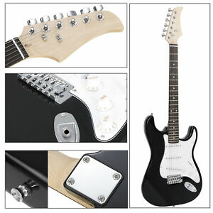 Black-Electric-Guitar-Full-Size-with-Amp-Case-and-Accessories-Pack-Beginner