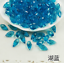 wholesale 15//60//100pcs 6x12mm Faceted Crystal Glass Teardrop Beads Pendants