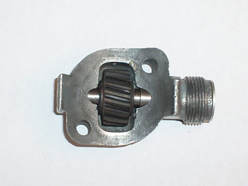 New Ford 1930-48 speedometer drive gear housing shaft set for square cable