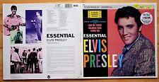 EX/EX ELVIS PRESLEY Essential Vol 1 GATEFOLD VINYL LP RCA 1986 23 Track Pl89979