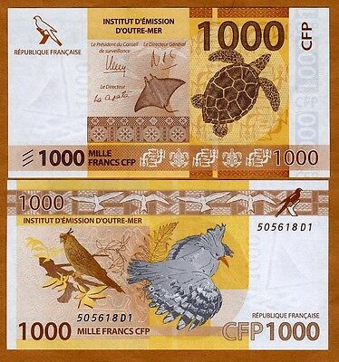L3399 1000 FRANCS AUNC-UNC SPECIMEN BANKNOTE FROM CONGO 2013 PICK-101S
