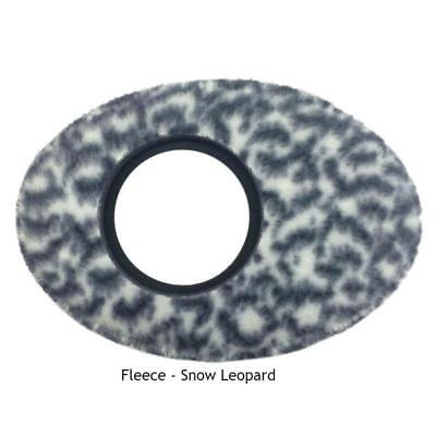 New Bluestar Extra Large Oval Orange Fleece Eyecup Eye Cushion 6014 Eyecushion
