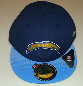 f0c8b8459cb5e4 San Diego Chargers New Era 2015 NFL Draft On Stage 59FIFTY Fitted ...