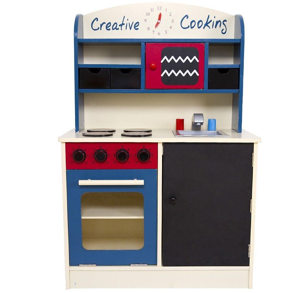 Kinderküche Spielküche inkl. vielen Zubehör Spielküche Kinderküche Holzküche Küchenspielzeug aus Holz 0af3ef