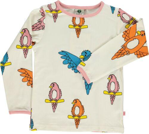 T Ceme Parrot Langarmshirt Papagei Bunt 92 128 Print Smafolk Allover shirt OPknw0