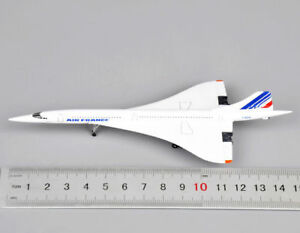 Air-France-1976-2003-Concorde-Aircraft-Model-1-400-Scale-Diecast-Airplane-Toy