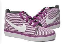 Nike Women's Toki Canvas Bold Berry Purple Stripes Casual Sneaker Size 6 Za/29