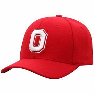 OHIO-ST-BUCKEYES-NCAA-FOOTBALL-RED-SAGA-SPORT-STRAPBACK-TOW-DAD-CAP-HAT-NWT