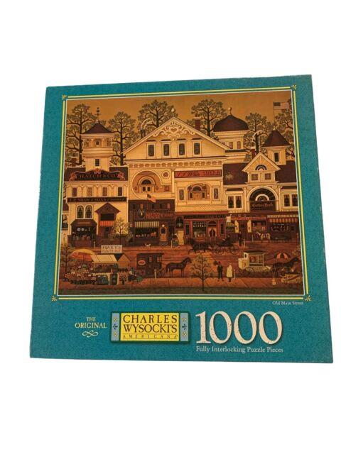Charlie Wysocki Puzzle 1000 Pieces Old Main Street Image