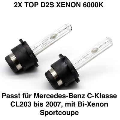 Mercedes Benz C W203 S203 D2S 35W Xenon HID Headlight Replacement Bulbs 4300K