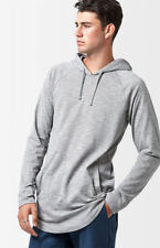 item 4 New PacSun Mens Light Gray Longer Fit Long Sleeve Pullover Hoodie  Size Medium -New PacSun Mens Light Gray Longer Fit Long Sleeve Pullover  Hoodie Size ... 7ac249601d0a