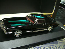 STUTZ Blackhawk Coupe 1971 schwarz black IXO PremiumX Resin limited 1:43