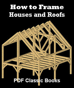 How-to-Frame-Houses-amp-Roofs-Framing-Plan-Design-Book-CD
