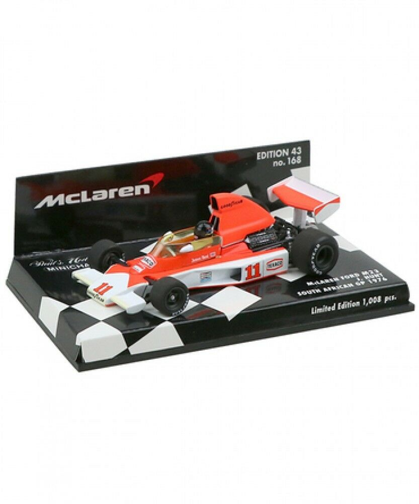 New Minichamps 1 43 McLaren Ford M23 James Hunt 1976 South Africa GP from Japan