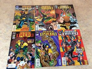 JUDGE-DREDD-13-14-15-16-17-18-LOT-OF-6-COMIC-NM-1995-1996-DC