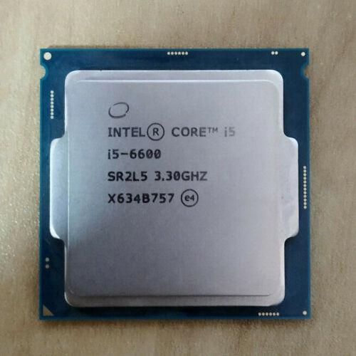 Intel Core i5 6600 3.3GHz 6M Cache Quad Core CPU Processor SR2L5 LGA1151 Tray