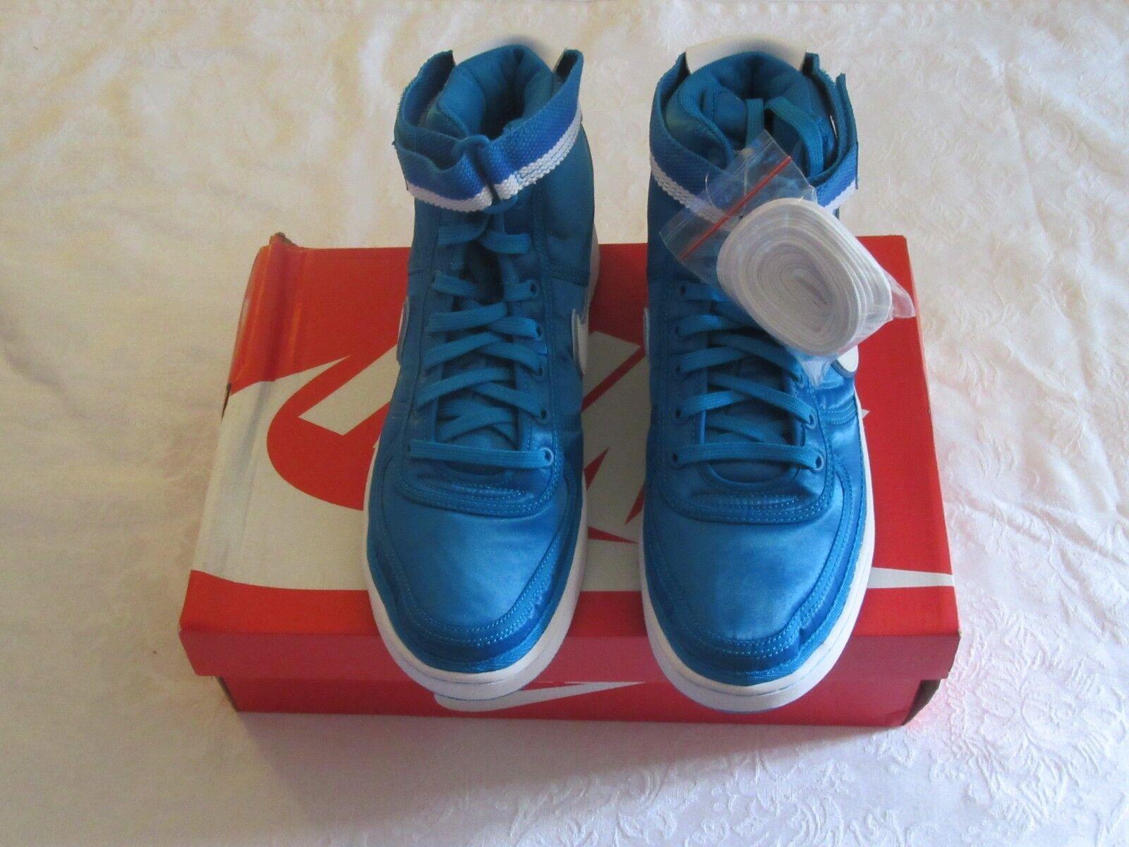Nike Vandal High Orbit Supreme QS Satin Azul Orbit High Blanco 318330 400 comodas 5f7ba0