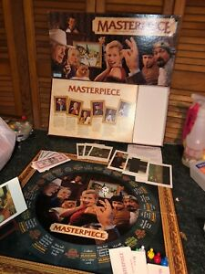 1996-Masterpiece-The-Classic-Art-Auction-Game-Parker-Brothers-100-COMPLETE