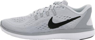 Details zu Nike Flex RN 2017 Platinum Silb Neu Running Joggen Schuhe Gr:37,5 Marathon Damen