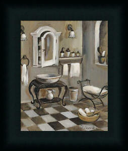 French Bath Iv Silvia Vassileva Bathroom Spa Framed Art