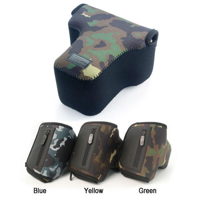 Camouflage Soft Camera case bag for Nikon D5500 D5300 D5200 D3300 D3400 18-55mm
