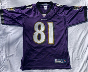 Details about NFL Anquan Boldin BALTIMORE RAVENS # 81 Jersey by Reebok Sz Men's Medium Purple