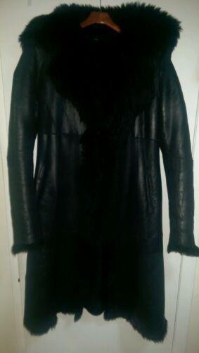 Shearling M Coat Black 2k Hadid Gigi Kenneth Size Cole 8WqIH87
