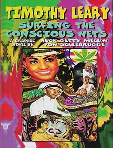 TIMOTHY-LEARY-THE-CONSCIOUS-NETS-LIMITED-EDITION-SIGNED-HARDCOVER-LSD-DRUGS
