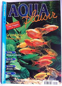 Actif Aqua Plaisir Magazine N°28 - Decors En Polyester/ Les Oursins/ Elever Des Insect Larges VariéTéS
