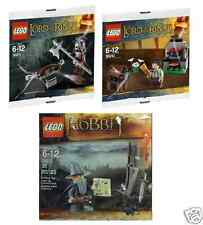 Lego señor de los anillos el hobbit Frodo Gandalf urukhai 30210 30211 30213