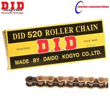 DID CHAIN 520 RJ HEAVY DUTY GOLD / BLACK MOTOCROSS CHAIN YAMAHA YZ125 YZ250 2011