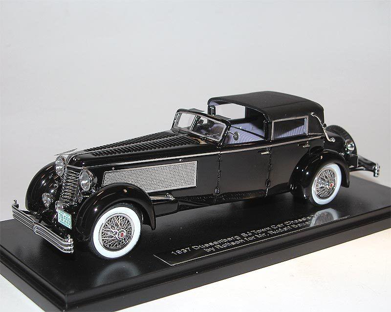 ESVAL MODELS, 1937 Duesenberg Bauer SJ SJ SJ Town Car Landaulet by Rollson, 1 43 3121d9