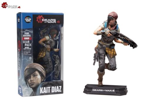 Kait Diaz from Gears of War 4 Color Tops Blue Wave McFarlane