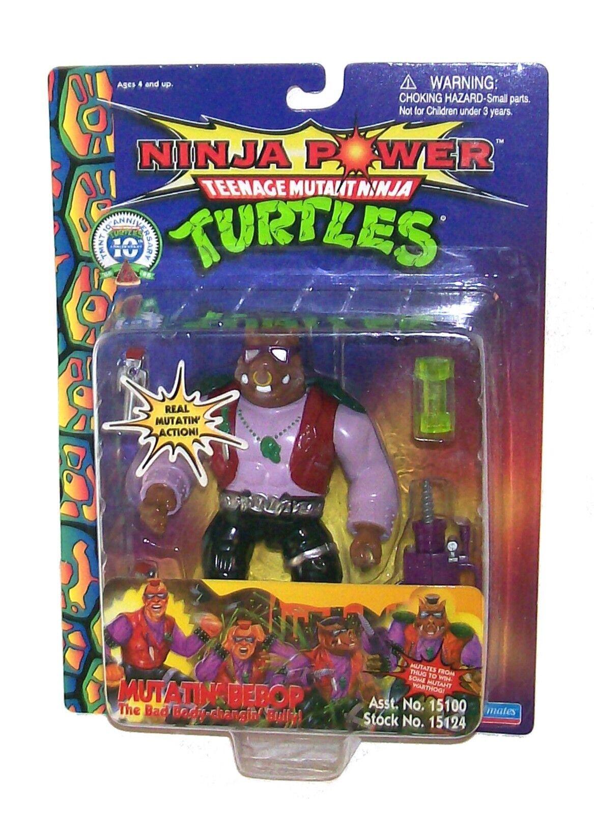 10. jahrestag tmnt ninja macht teenage mutant ninja turtles mutatin  bebop 1996