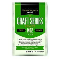 Mangrove Jack's Yeast Cider M02 Craft Series Yeast 9g treats 23L